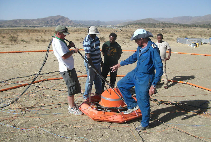 Geophysical survey preparation