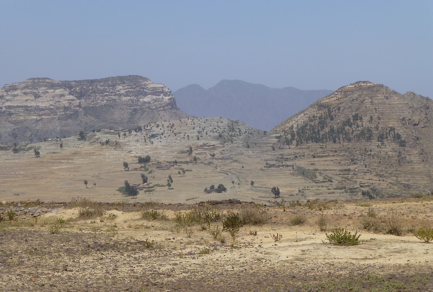 Landscape of the Dera Prospect
