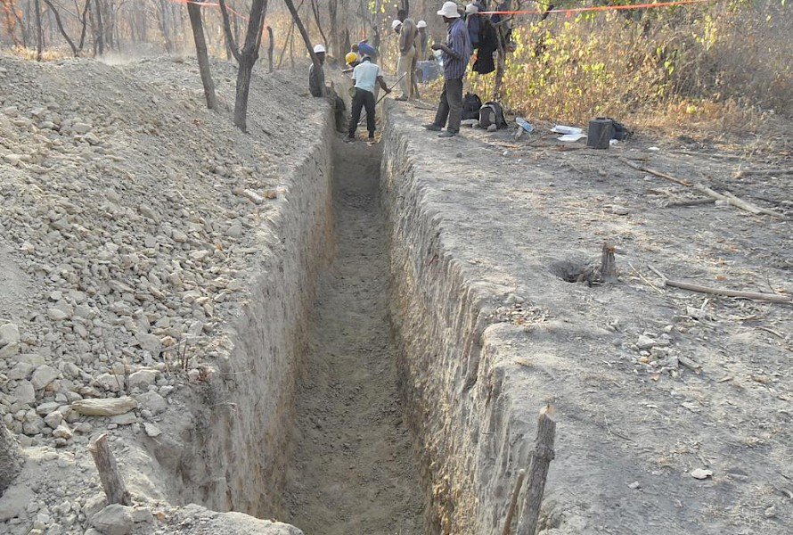 Trenching programme