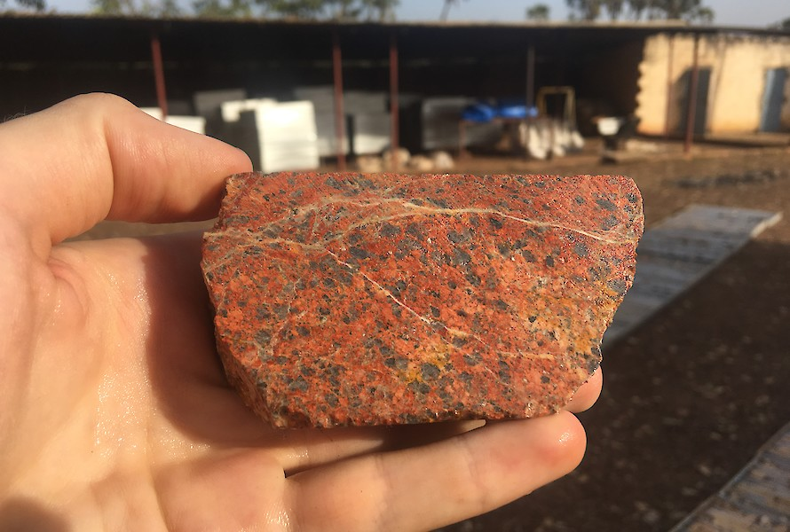 Granite in core