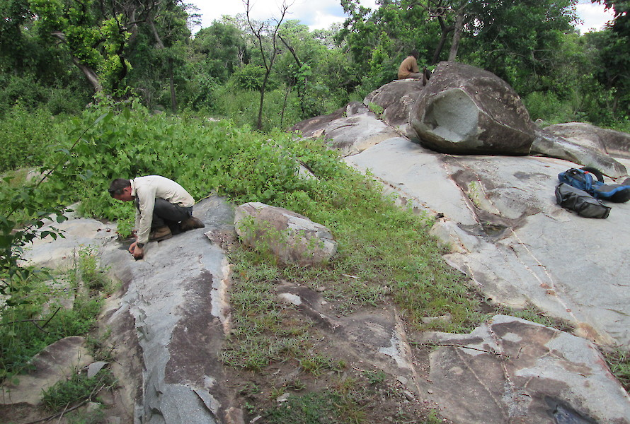 Outcrop prospecting